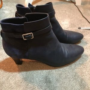 Cole Haan Blue Ankle Boots